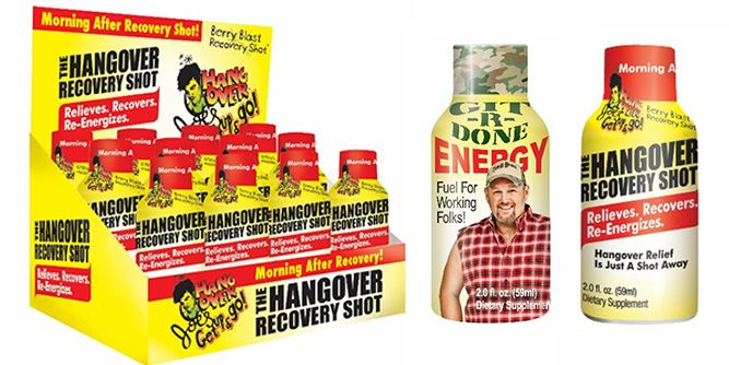 Git-R-Done Energy and Hangover Recovery Shot slide 2