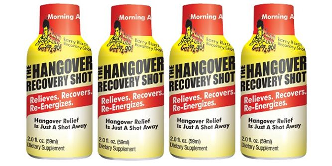 Git-R-Done Energy and Hangover Recovery Shot slide 3