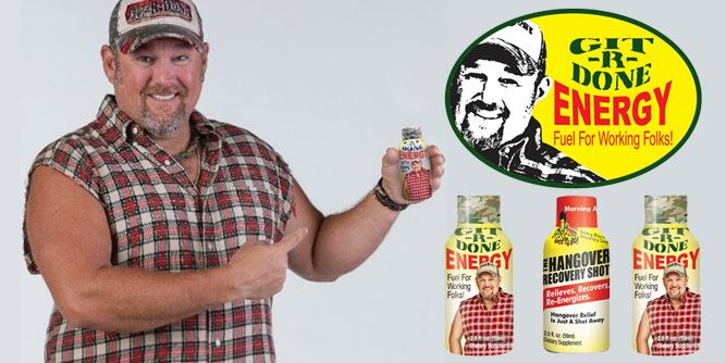 Git-R-Done Energy and Hangover Recovery Shot slide 6