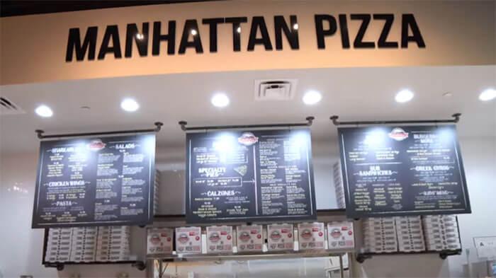 Manhattan Pizza slide 1