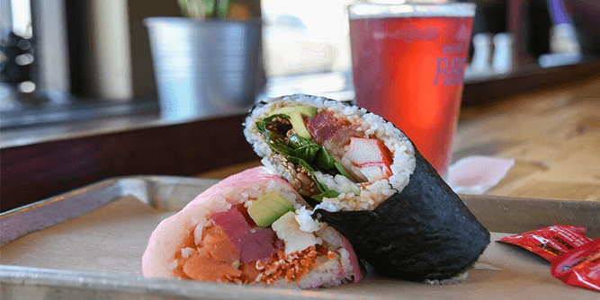 Roll On In Sushi Burritos & Bowls slide 2