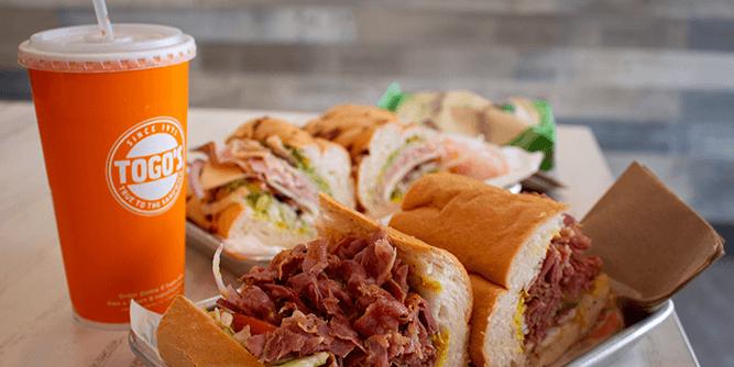 Togo's Great Sandwiches slide 3