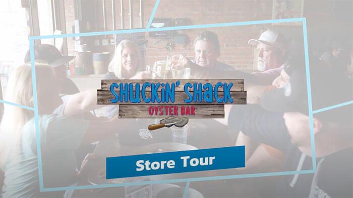 Take a tour of a Shuckin' Shack!